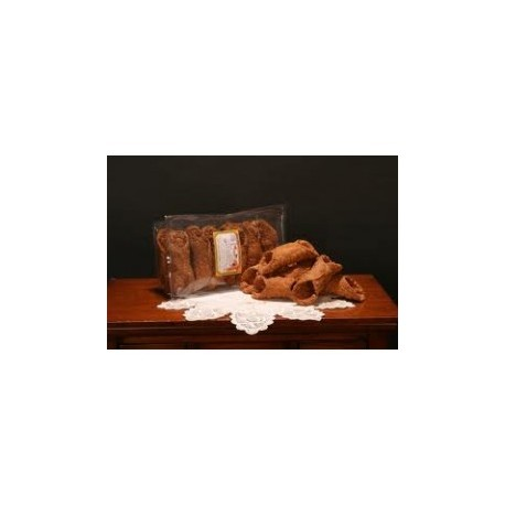 CANNOLI SICILIANI A FARCIR GRAND (confection de 12pcs)
