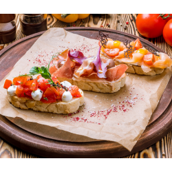 PAIN A BRUSCHETTA 3PCS